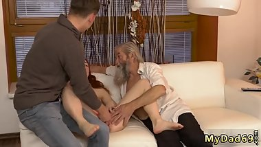 Daddy Your Cocks Too Big First Time Unexpected practice with an older