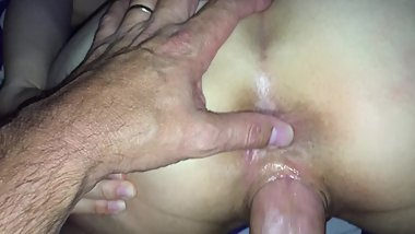 Hotwife Going Home Gaped and Cum Filled from Taking Huge Dick for Hubbs