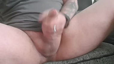 More pulling of my hard cock