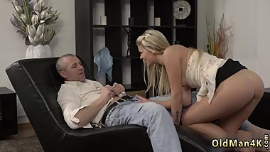 Young blonde big tits She is so magnificent in this brief skirt