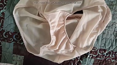 Playing with Mother in Laws Dirty and Smelly Panties