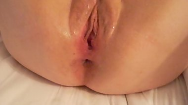 Fisting my slut wife's cunt part 2