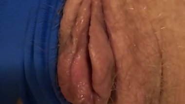 Fingering my Wife from Dry to Wet - Pussy play & a touch of Anal Caressing