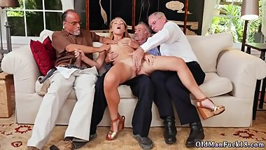 Tickling handjob threesome Frannkie And The Gang Tag Team A Door To Door