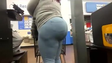 Big ass bbw aunt shopping