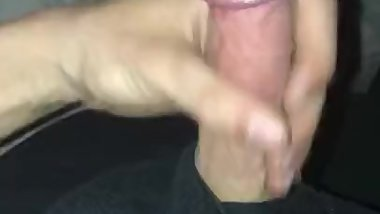 Cumming all over my cock Pt.1