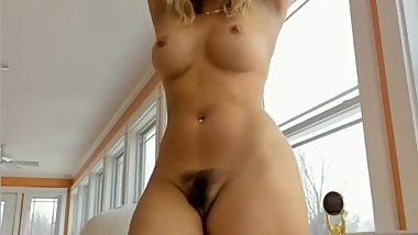 Amazing girl show her big white ass on webcam big ass big booty sexy girl
