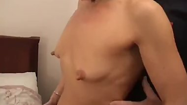 mature with small tits, big nipple