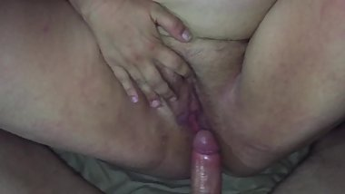 Bbw takes big dick