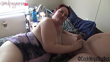 BBW Mom and Dad Teach Son Sex FULL VERSION