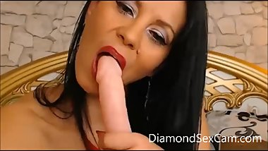 Dildo Suck and Ass Fuck