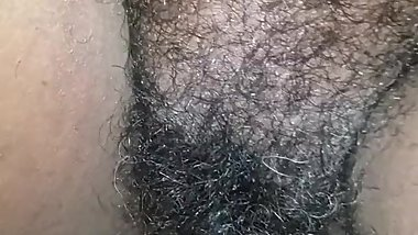 Cream pie for  hairy bbw ebony milf