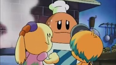 FREAKY MATURE CHEF KAWASAKI WANTS TO EAT YOUNG KIRBY WHILE OUTSIDERS WATCH