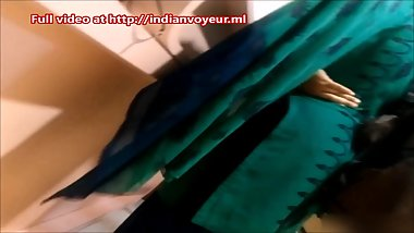 Indian Aunty in shop indianvoyeur.ml for full video