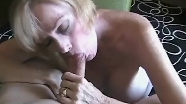 Amateur Granny Is One Horny GILF
