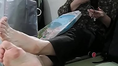 Candid Japanese soles