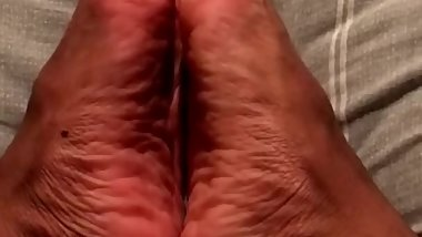 Veiny Male Foot Tease