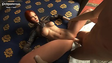 Leliana fucked on bed - Dragon Age Inquisition