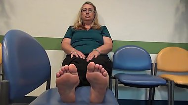 Mature Feet Nancy 48y