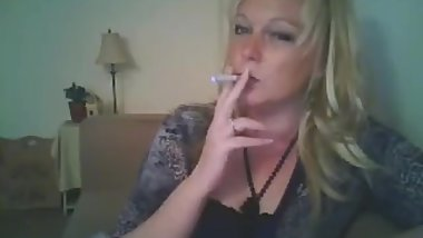 Cougar smoking