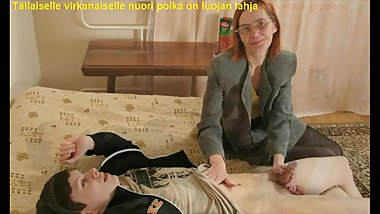 Slideshow with Finnish Captions: Russian Mom Elisa 4