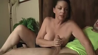 Mom giving you smoking blowjob (Follow me on instagram sexypizzabody)