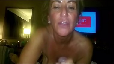 Lisa32ff sloppy deepthroat boowjob