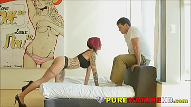 Hard Formed Mature Whore Is Ideal Fuck Queen