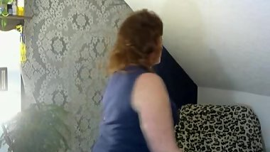 V50 Curvy Cougar seduces daughters ex