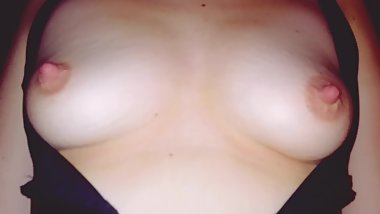 Showing you my boobs