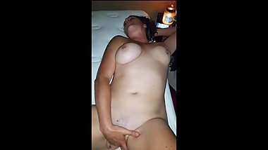 Hot Slutty Natural Tits Milf Takes Cum Shot!