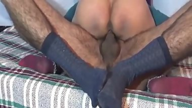 Desi Indian couples Honeymoon In Badroom