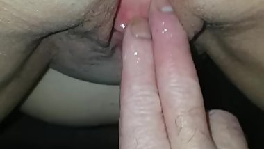 Wife pissing hard
