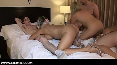 Granny Orgy With Payton & Sally In Hotel