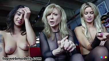 NINA HARTLEY Talks Candidly with Girls About Sex -- Wow very interesting!