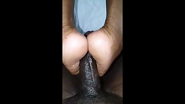 Nice slow foot job me and my chichi