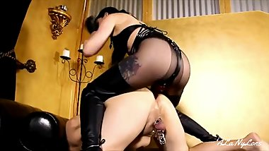 ALa NyLons l Mistress in Black Boots l-SUPER XXX
