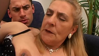 My MOM for my friends pleasure...she loves young and huge cocks!!! vol. #02