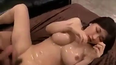 Japanese girl gets fucked and filled with cum