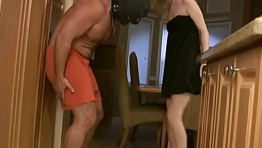 Sexy Blonde High Heels Ballbusting