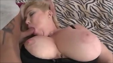 Mature BBW and Young Guy