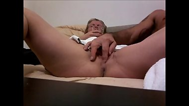 FBB secretly filmed having giant clit played with and orgasms.