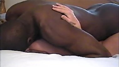 Big Black Cock using white mature women
