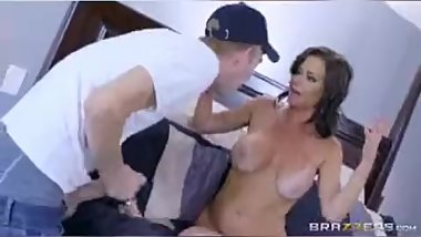 Hot sexy stepmom blackmailed porn