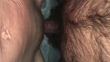 Hubby starts my day with a quick stick, Love listening to him Fuck me