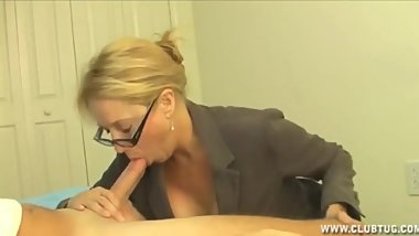 Milf Gets Furious To Catch Young Guy Jacking