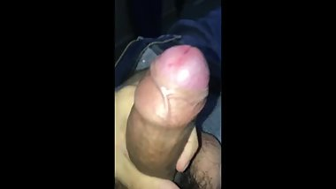 Masturbating my dick till it cums