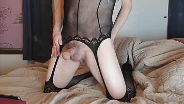 MANPUSSY crossdresser cum shot