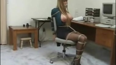 Darla Crane Secretary bondage (good quality)