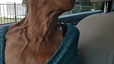 Female Neck Veins